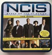 Pressman Ncis The Game 2010 Board Game In Tin Box - For 1 To 6 Players - Age 13+