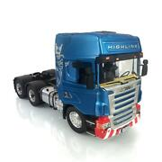 Lesu Rc 1/14 64 Metal Chassis Hercules Painted Scania Cabin Rc Tractor Truck