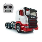 Lesu Rc 66 Metal Chassis 1/14 Hercules Scania Painted Cabin Tractor Truck Radio