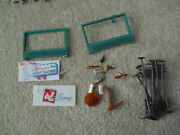 Lot Of Vintage Ho Scale Accessories People Billboards Telephone Poles More