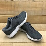 Nike Unisex Kids Revolution 4 Running Shoes Gray 943309-005 Lace Up Low Top 5 Y