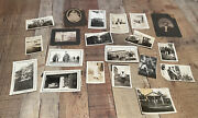 Lot Of 20 Antique Photos And Photo Cards Cars, Guns, Cowgirl And More