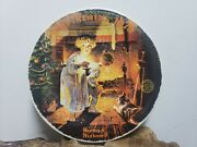 Knowles Plates - Decorative Plate - Norman Rockwell - Somebody's Up There