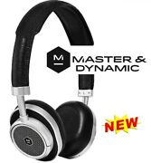 Master And Dynamic Mw50 On/over-ear Wireless Bluetooth Leather Headset Blk/silver