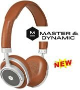 Master And Dynamic Mw50 On/over-ear Wireless Bluetooth Leather Headset Brown -new