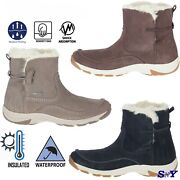 Merrell Womenand039s Waterproof Insulated Faux-fur Collar Winter Boots