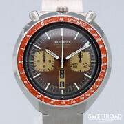 Seiko Self-winding Chronograph Day Date Ref.6138-0040 Stainless Men Watch[b1030]