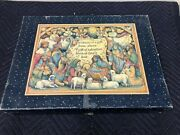 Lang And Wise Angel And Nativities Susan Winget Adore Him 16 Piece Nativity