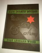 6th Infantry Division - U.s. Army-pictorial Review-1941-ft. Leonard Wood-ww Ii