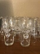 1984 Worlds Fair Coca Cola Glasses 18 Glasses New Orleans 18 New Collectable