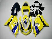 Fit For 1998-2003 Tl1000r Yellow Blue Flames Abs Injection Bodywork Fairing Kit