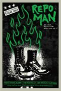 Repo Man By Todd Slater - Signed And Numbered - Sold Out Mondo
