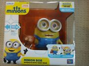 New Minion Bob Interacts With Teddy Bear Talking Despicable Me Minions Movie
