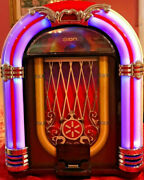 Ion Jukebox Dock / Retro Speaker Dock For Ipad, Iphone And Ipod Works Great