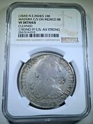 Ngc N.e. Indies Madura Countermark 1783 Mexico Silver 8 Reales Counterstamp Coin