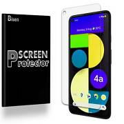 [4-pack Bisen] Anti-glare Matte Screen Protector Guard For Google Pixel 4a 5g