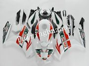 Fit For 2012-2016 Cbr1000rr White Blue Green Castrol Abs Injection Fairing Kit