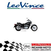 Exhaust Complete Leovince Silvertail K02 Honda Vt 125 C Shadow 2001 Approved