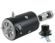 New 6v Starter And Drive With Solenoid Fits Ford 9n 8n-11001 8n-11001r 8n-11002