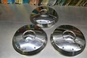 3 Used 1961 1962 Ford Galaxie 500 Xl Fairlane 10.5 Hubcap C1aa-1130-b 61 62