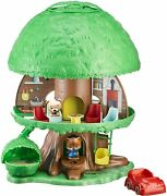 Timber Tots Tree House Classic Retro Toddler Toy Playset Animal Figure New