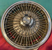 """1 Vintage 1967 1968 1969 Chevy Corvair Wire Spinner Hubcap Wheel Cover 13"""" Cap"""