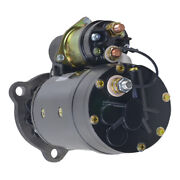 New 12v 11t Starter Fits Flxible 45096 45102 1977-1981 1114062 1114736 323-883