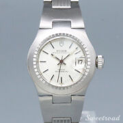 Tudor Princess Oyster Date Ref.9301-0 Cal.2871automatic Ss Ladies Watch[b1103]