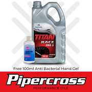 Fuchs Titan Race Pro S 5w40 Fully Synthetic Ester Engine Oil 5 Litre + Free Gift