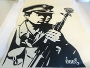 2006 Obey Chinese Soldier 2 Shepard Fairey Art Print 18x24 Artists Test Proof