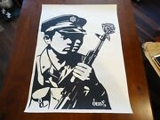 2006 Shepard Fairey Chinese Soldiers Print Obey Street Paster Poster Ap 18x24