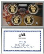 3 2010 U.s. Mint Presidential 1 Coin Proof Sets