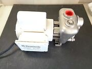 Used 1010037 Dometic Pump With Stainless Steel Seawater Pump Head 115/230v