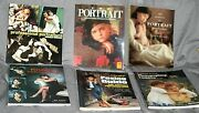 Lot Of Six Soft Back Books On Portrait Photography, Posing, Lighting And More Used