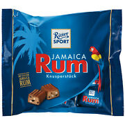 Ritter Sport Jamaica Rum Chocolates 200g Made In Germany Free Ship