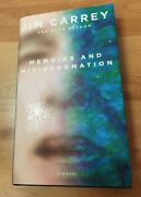 Jim Carrey Signed And039memoirs And Misinformationand039 Hardcover Book Rare Autographed