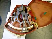 Antique G.a. Berry And Son 10 Sextant And Case - Appraised At 1400 - Very Nice