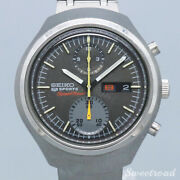 Seiko Speed timer Ref.6138-0020 Cal.6138b Stainless Steel Menand039s Watch [b1105]