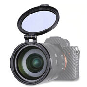 Quick Release Flip Up Photo Filter Mount For Camera Lens 72mm To Filter 82mm