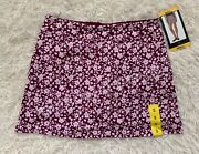 Tranquility Womenandrsquos Active Skort By Colorado Clothing Purple Ditzy Garden Skirts