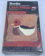 New Bucilla Decoy 15x15 Deluxe Pile Latch Pillow Kit 12532 Duck Hunting Hunter