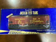American Flyer 6-48619 Union Pacific Hopper With Coal Load 2001