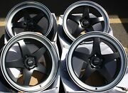 18 8.0j Dare F7 Alloy Wheels Fits Land Range Rover Sport Discovery 5x120