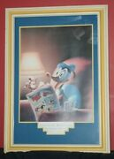 Donald Duck Sixtieth Birthday Framed Picture 41x29