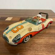 Aosin Speed Racer Tinplate Toy Car Vintage Retro Collectible Item From Japan