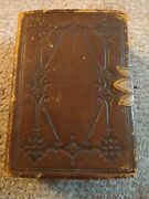 Kjv Holy Bible Compact Vintage Antique Rare New York American Bible Society
