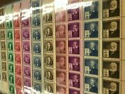 1940 Us Postage Stamps 859-893 Mint Full Sheet Famous Americans Complete Set