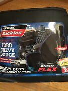 New Heavy Duty Truck Seat Covers Ford/chevy/dodge Black No Box