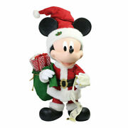 Disney Dept56 Possible Dreams Merry Mickey 31 Big Fig Contact For Reduced Shpg