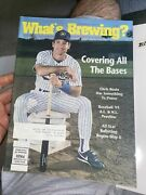Vtg Whatand039s Brewing Magazine 1991 Opening Day Issue Paul Molitor Brewers - 2059